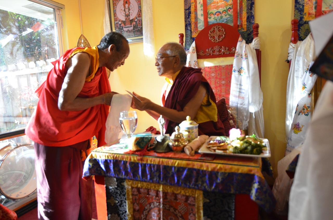 Offering Khenpo